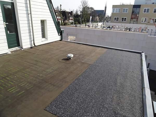 Bitumen dak renoveren